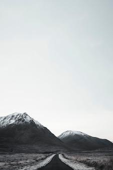Passo di montagna a glen coe in scozia