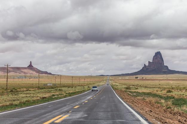 Strada di montagna in arizona