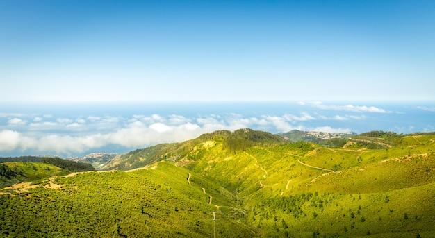 Paesaggio delle montagne