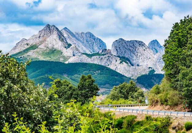 Montagne di picos de europa. cantabrico, riano, provincia di leon. castiglia e leon, spagna settentrionale