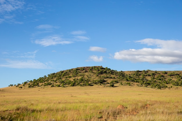 Villaggio di montagna in madagascar