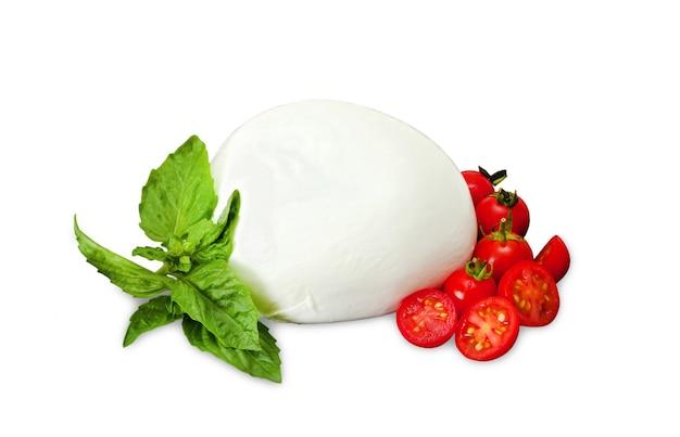 Mozzarella di bufala, prodotto caseario tipico della regione campania del sud italia.