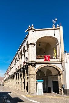 Palazzo municipale di arequipa perù