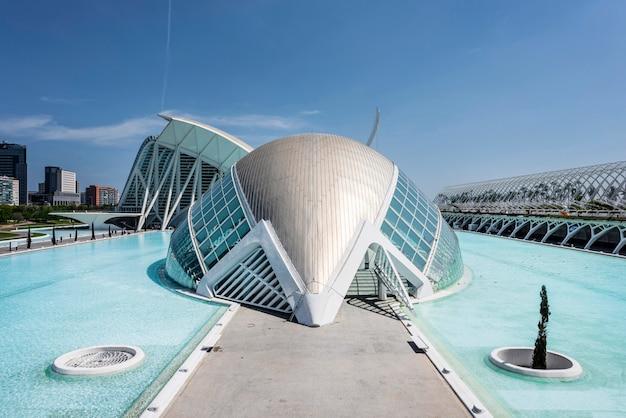 Museo di scienze naturali a valencia, in spagna
