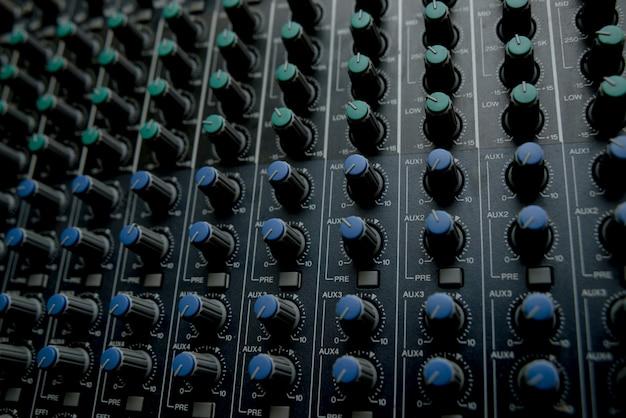 La stazione di controllo della musica.