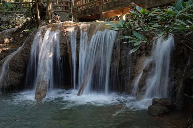 Cascate di nang khan, provincia di tak, thailandia
