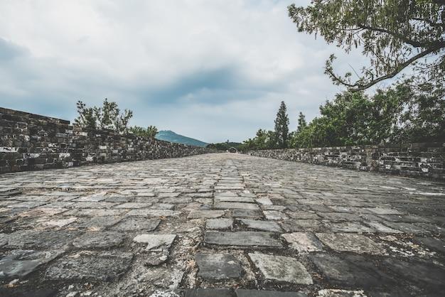 Architettura antica del muro di cinta di nanchino