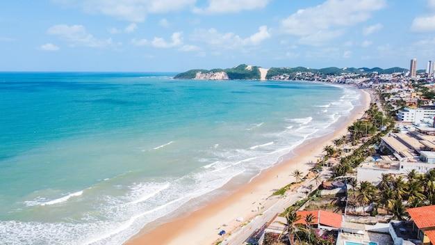 Natal, rio grande do norte, brasile - 12 marzo 2021: bella immagine aerea del