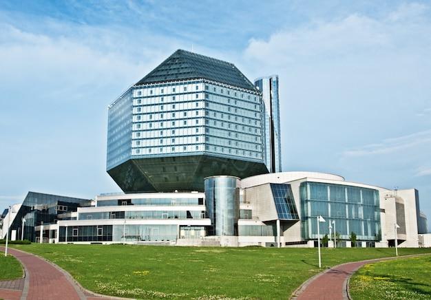 Biblioteca nazionale della bielorussia. repubblica di bielorussia, minsk