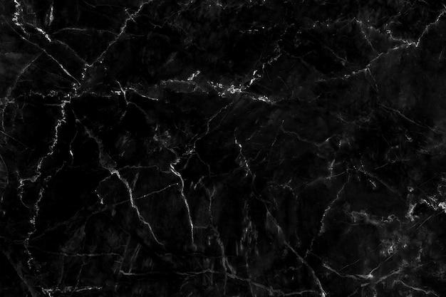 Trama di marmo nero naturale per sfondo lussuoso carta da parati piastrelle di pelle.