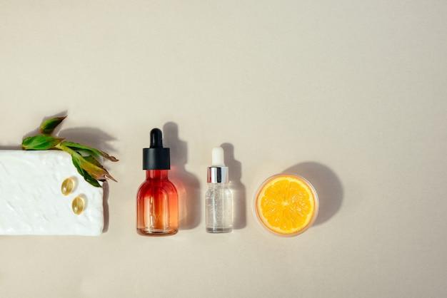 Cosmetico naturale con vitamina c.