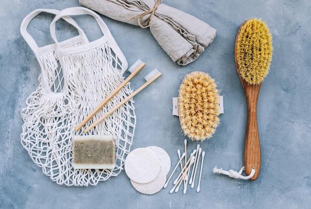 Accessori ecologici naturali per la cura di sé