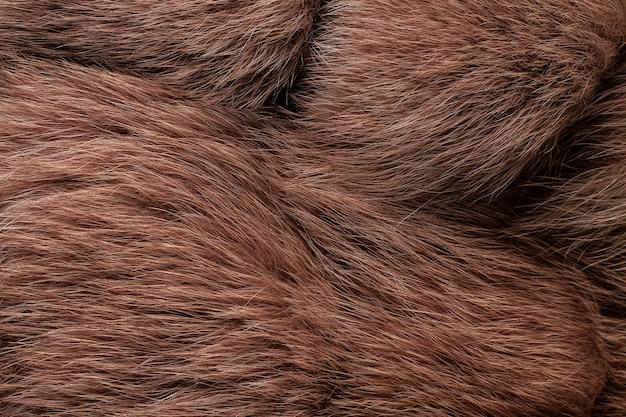 Trama di pelliccia di volpe naturale