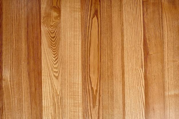 Struttura in legno marrone chiaro naturale di assi di parquet