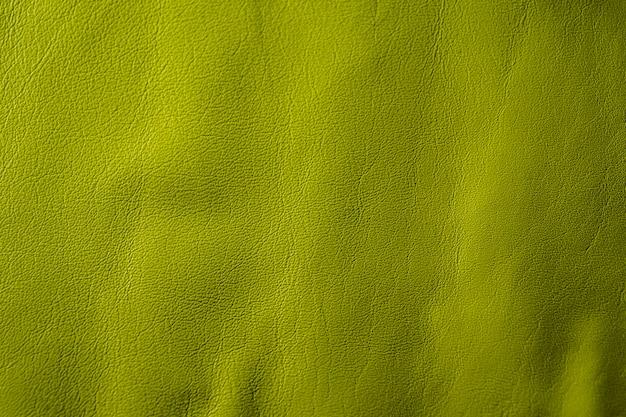 Sfondo di cuoio verde chiaro di lusso naturale