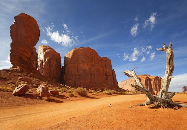 Scenario naturale di horseshoe bay, grand canyon, fiume colorado, monument valley. arizona, stati uniti