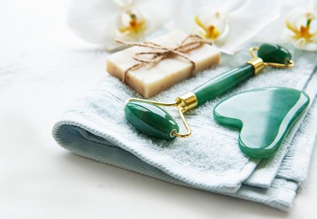 Prodotti naturali per la cura della pelle e spa