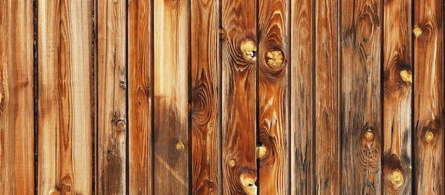 Sfondo di tavole in legno naturale panoramico