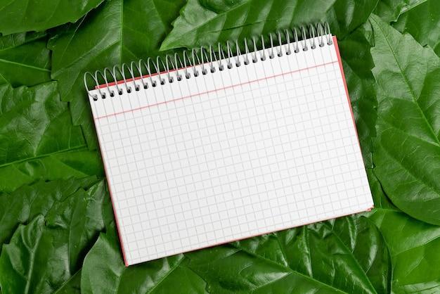 Idee per la conservazione della natura scrivere piani di conservazione dell'ambiente giardinaggio di materiali organici