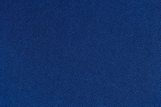 Priorità bassa di struttura del poliestere panno tessuto blu navy.