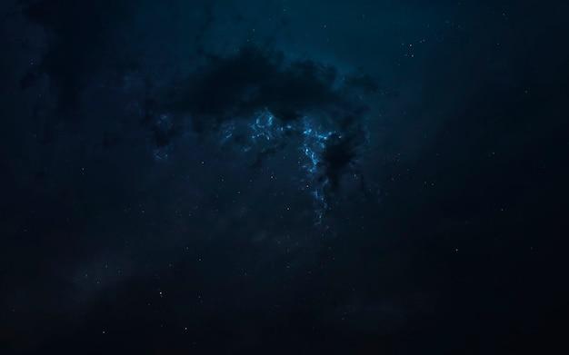 Nebula, bellissimo sfondo di fantascienza con infinito spazio profondo. elementi di questa immagine forniti dalla nasa