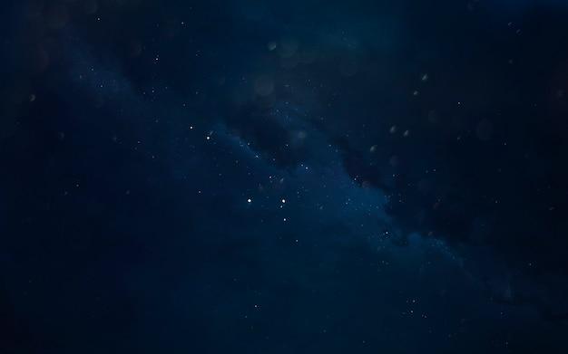 Nebulosa. paesaggio cosmico, bellissimo sfondo di fantascienza con infinito spazio profondo. elementi di questa immagine forniti dalla nasa