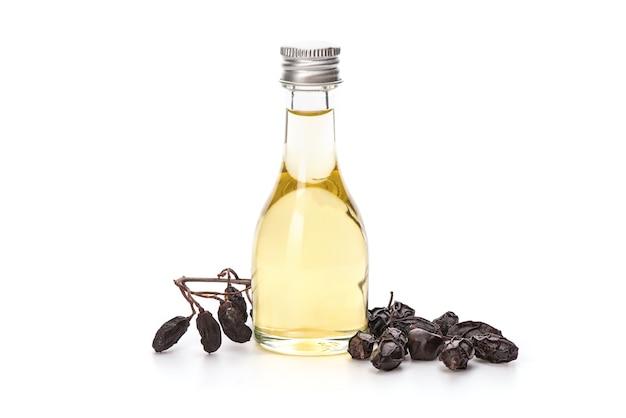 Neem o azadirachta indica, semi essiccati e olio isolato.