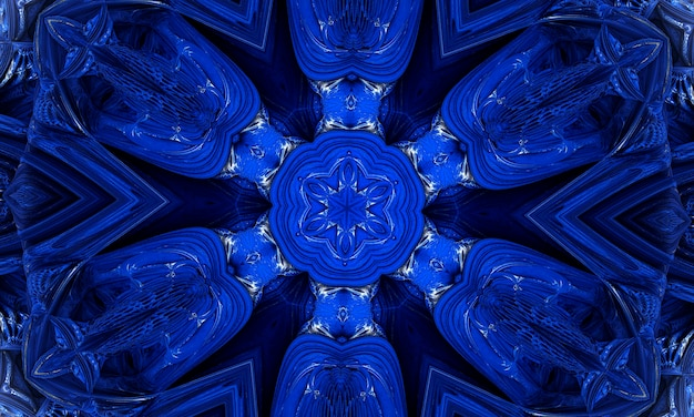 Forma al neon su priorità bassa strutturata blu. disegno di sfondo sfumato di colore. poster dal design futuristico. linee techno incandescente al neon, modello di sfondo astratto futuristico hi-tech blu.
