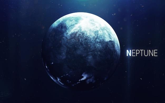 Nettuno - la bellissima arte ad alta risoluzione presenta il pianeta del sistema solare