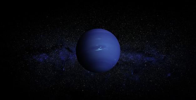 Nettuno nello spazio