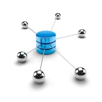 Network computing data storage concept