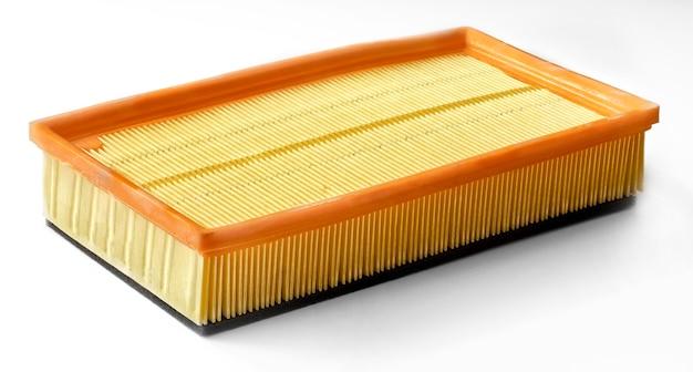 Nuovo filtro dell'aria per il sollevamento dell'auto. materiali di consumo per la manutenzione periodica.