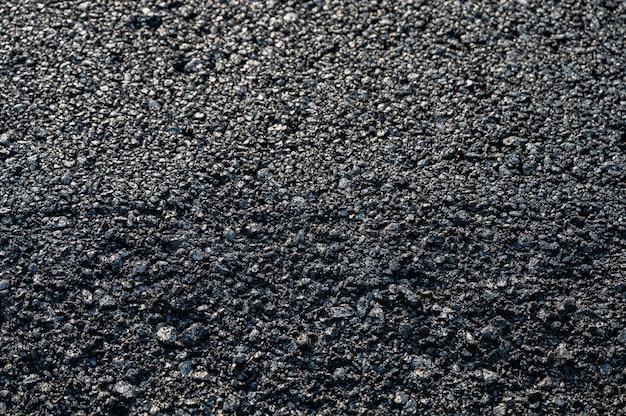 Nuova consistenza asfalto asfalto della strada autostradale