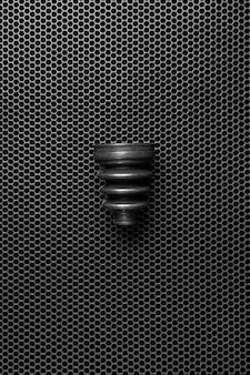 Un nuovo pezzo di ricambio per auto. protezione dell'albero di trasmissione dello spolverino in gomma nera scura