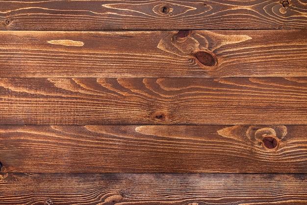 Nuova superficie in legno marrone
