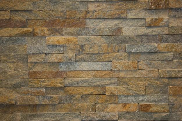Il nuovo design della parete moderna. muro di piastrelle di pietra