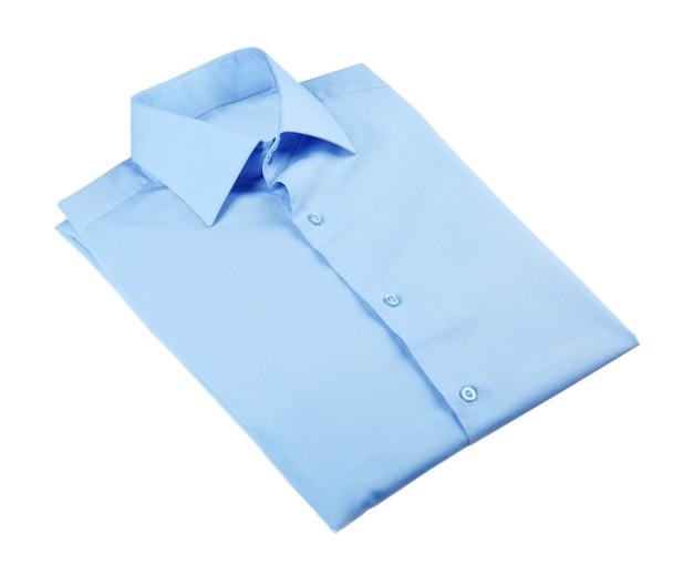 Camicia uomo nuova su bianco