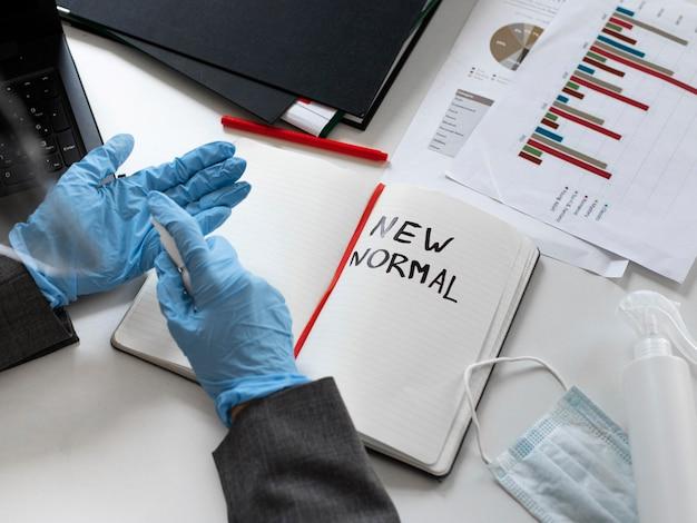 Nuova normalità in ufficio per i lavoratori aziendali