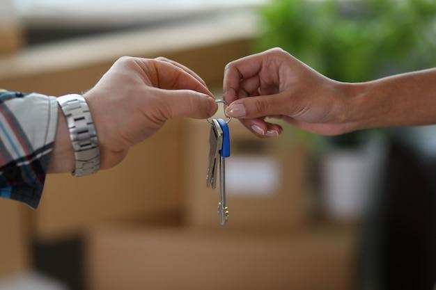 Nuovo proprietario di immobili