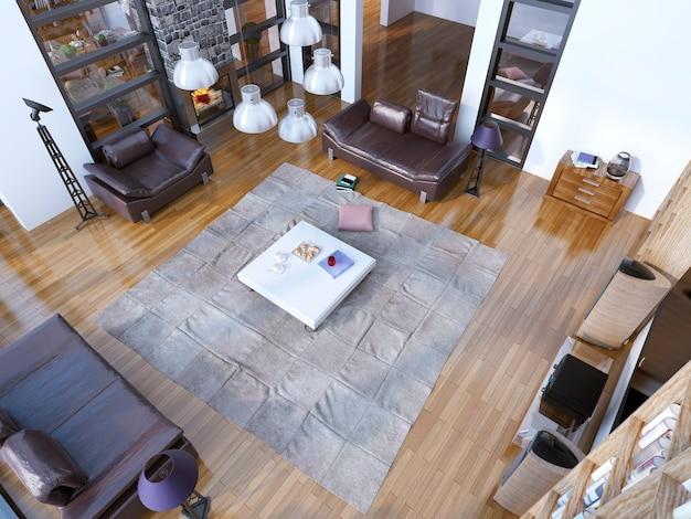 Nuova tendenza del soggiorno moderno.