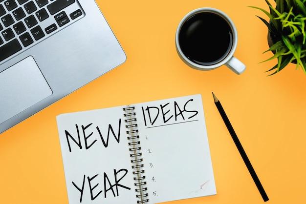Elenco degli obiettivi per la risoluzione del nuovo anno 2020 impostazione dell'obiettivo