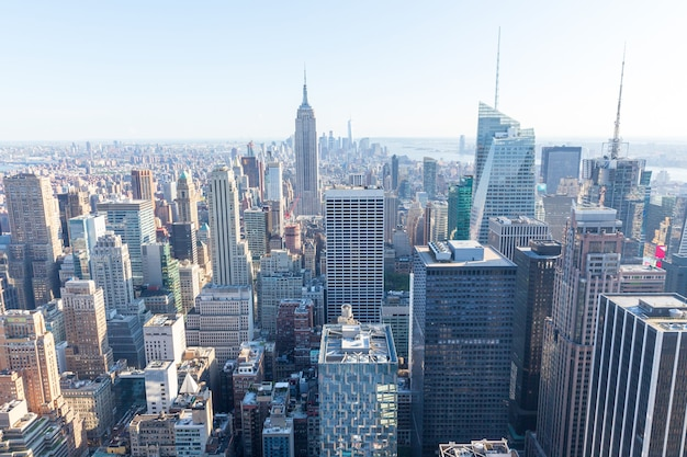 New york city. manhattan, empire state building