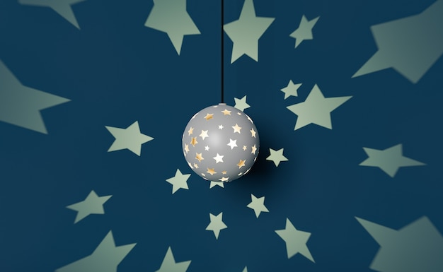 Lampada da notte che proietta stelle