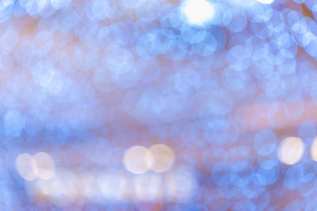 Luce notturna bokeh colorato sfondo astratto sfocatura riflesso lente riflesso