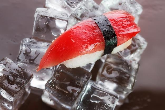 Nigirizushi sul ghiaccio