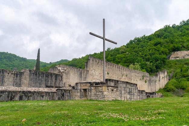 Nokalakevi - fortezza nella parte occidentale della georgia, luogo della leggendaria città di aia