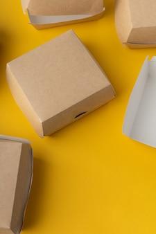 Scatola per la consegna dell'hamburger non in plastica