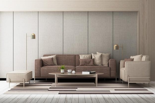 Stile nordico semplice per l'arredamento di interni