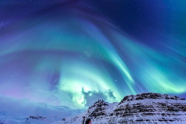 L'aurora boreale aurora nordica