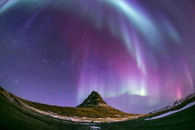 Aurora boreale aurora nordica